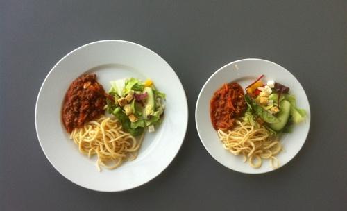 makan dengan porsi kecil dapat menurunkan berat badan