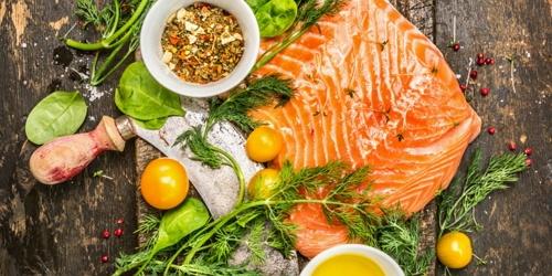 makanan yang sehat dan bernutrisi