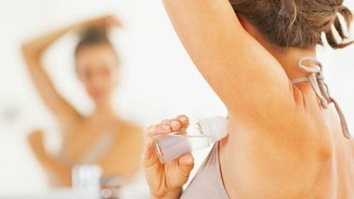 Gunakan anti perspirant