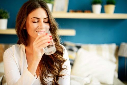 minum air bersih