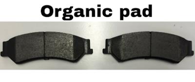 Kampas rem berbahan organik