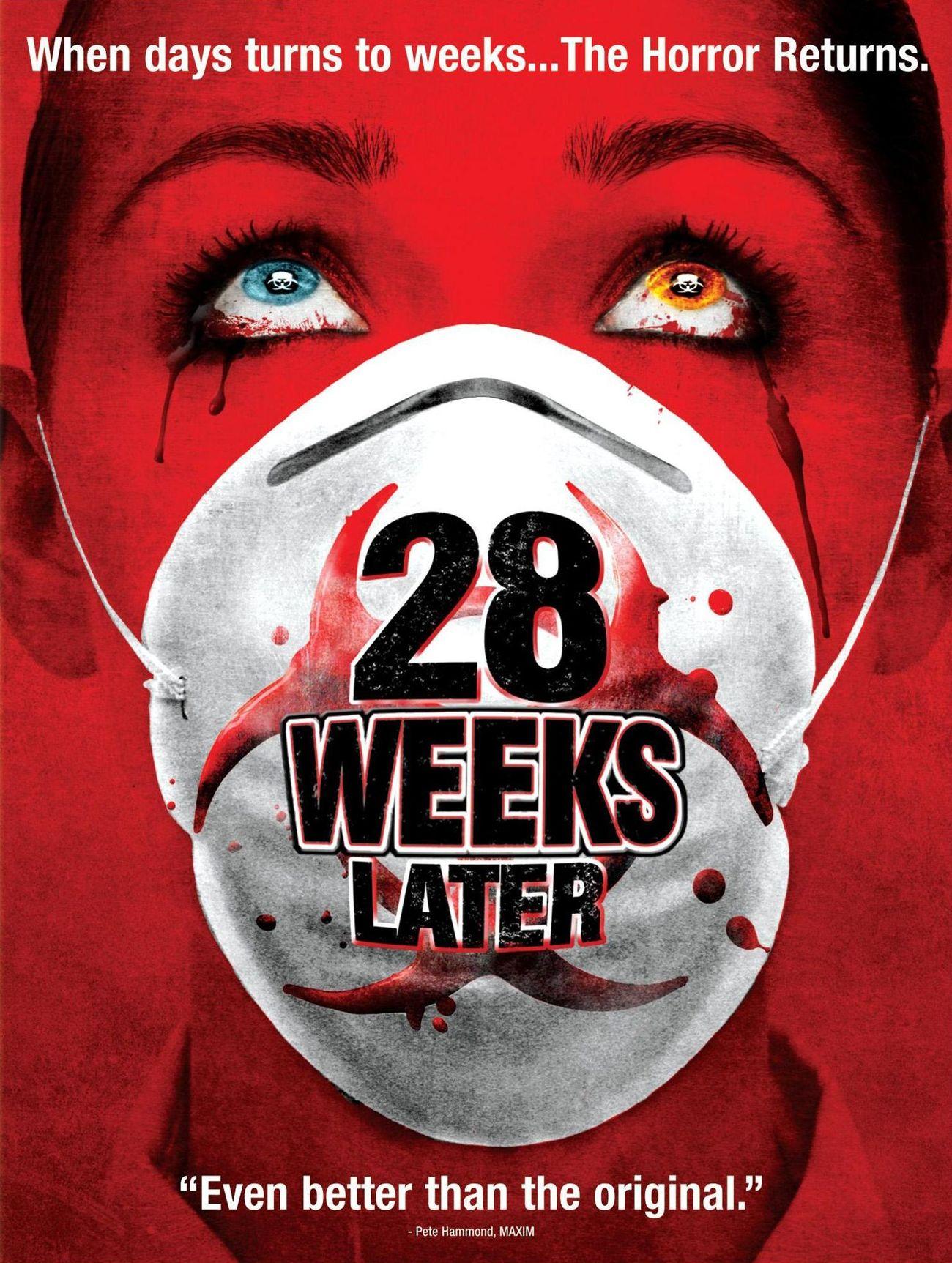 Film sniper terbaik keempat adalah 28 Weeks Later (2007)