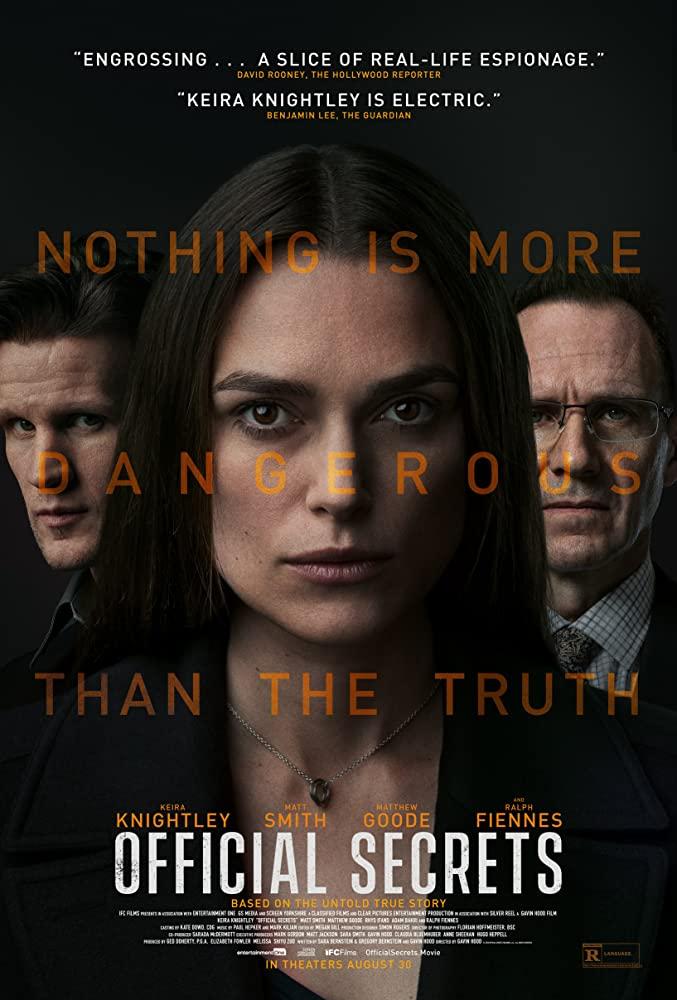 Familinia - film perang Official Secret (2019)
