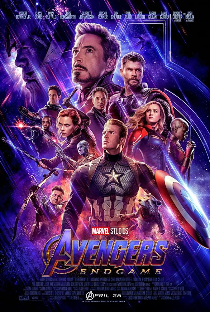 Familinia - Film Avangers : End Game (2019)