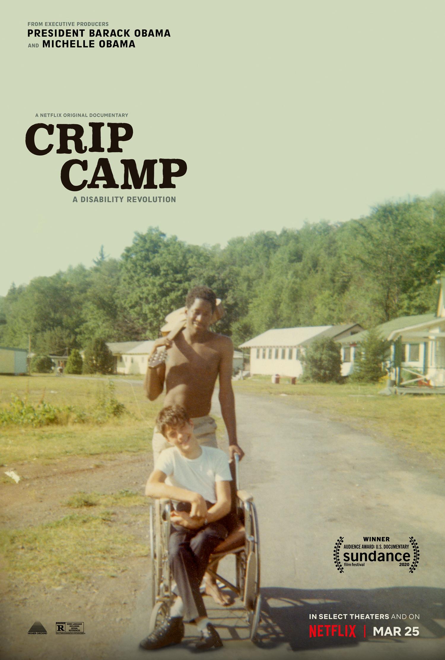 Film Crip Camp Documenter film netflix
