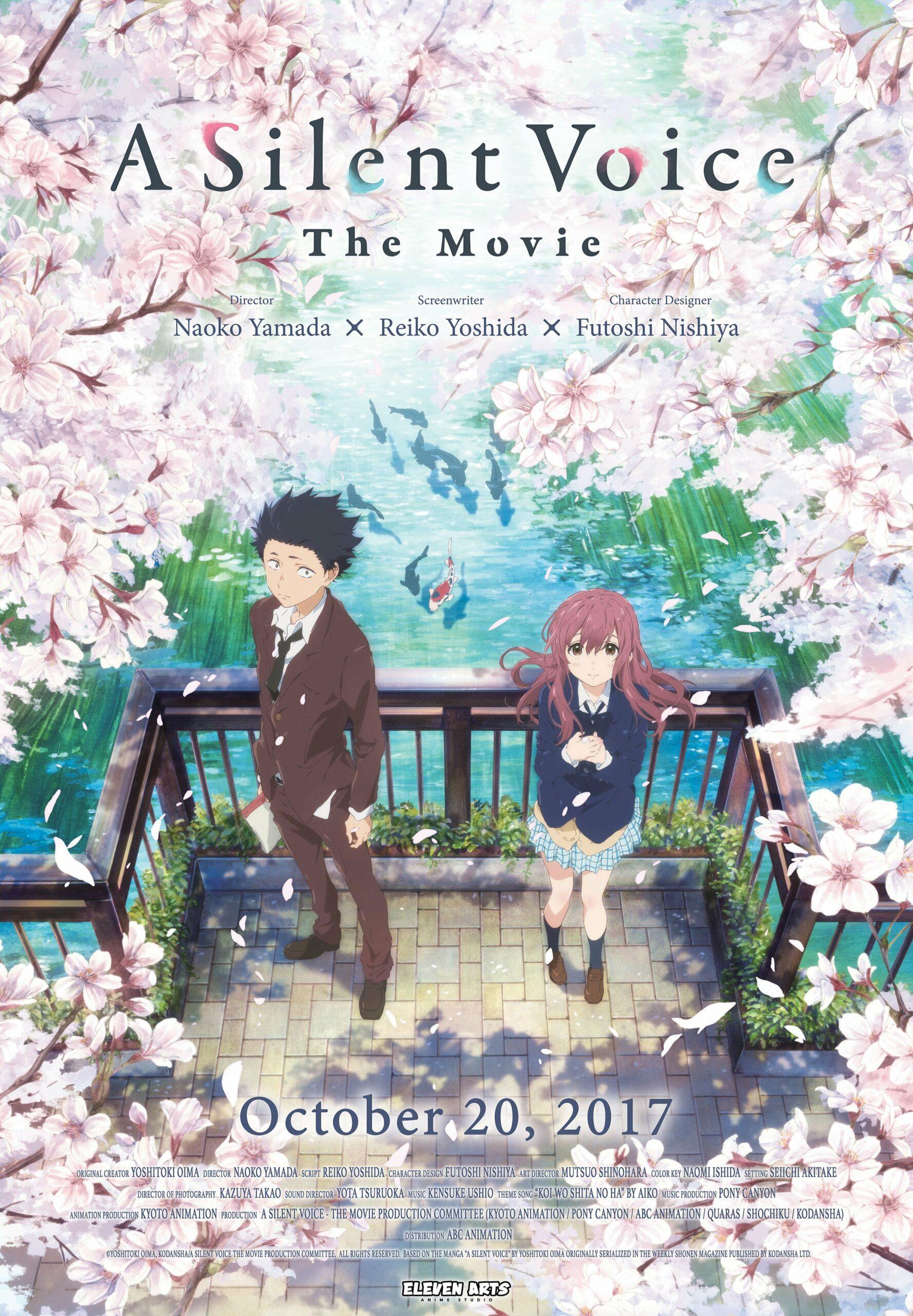 film animasi Jepang Koe no Katachi Poster