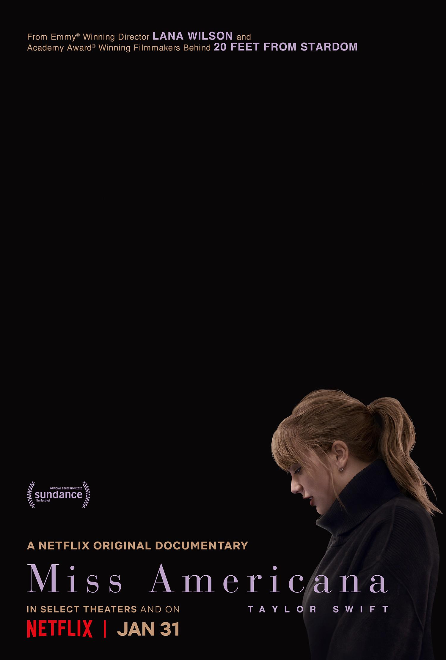 miss americana film dokumenter documenter taylor swift netflix
