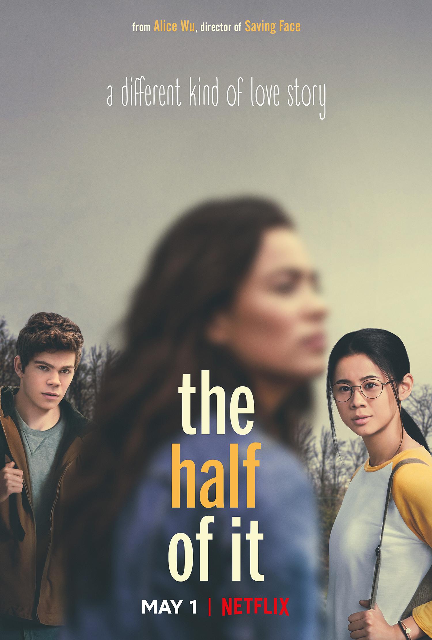 the half of it film net flix romance