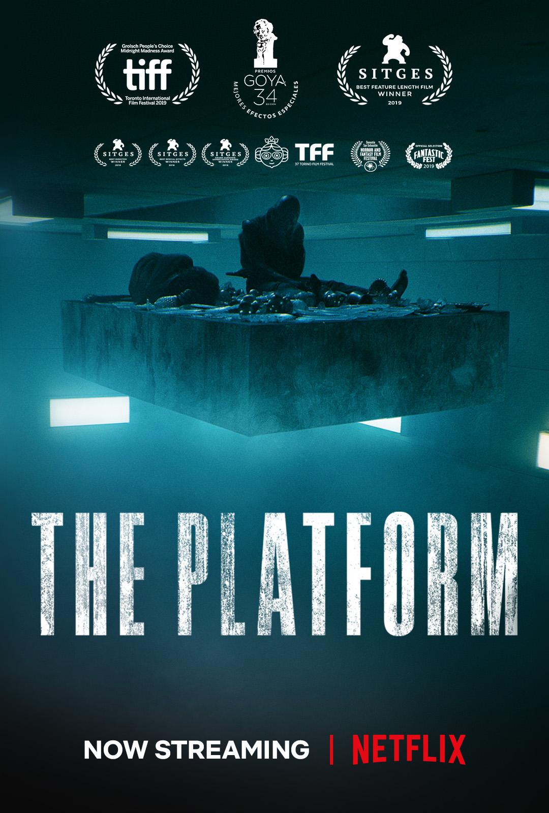 the platform film netflix horor thriller spanyol