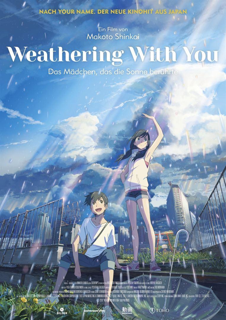 film animasi Jepang Weathering with You Poster