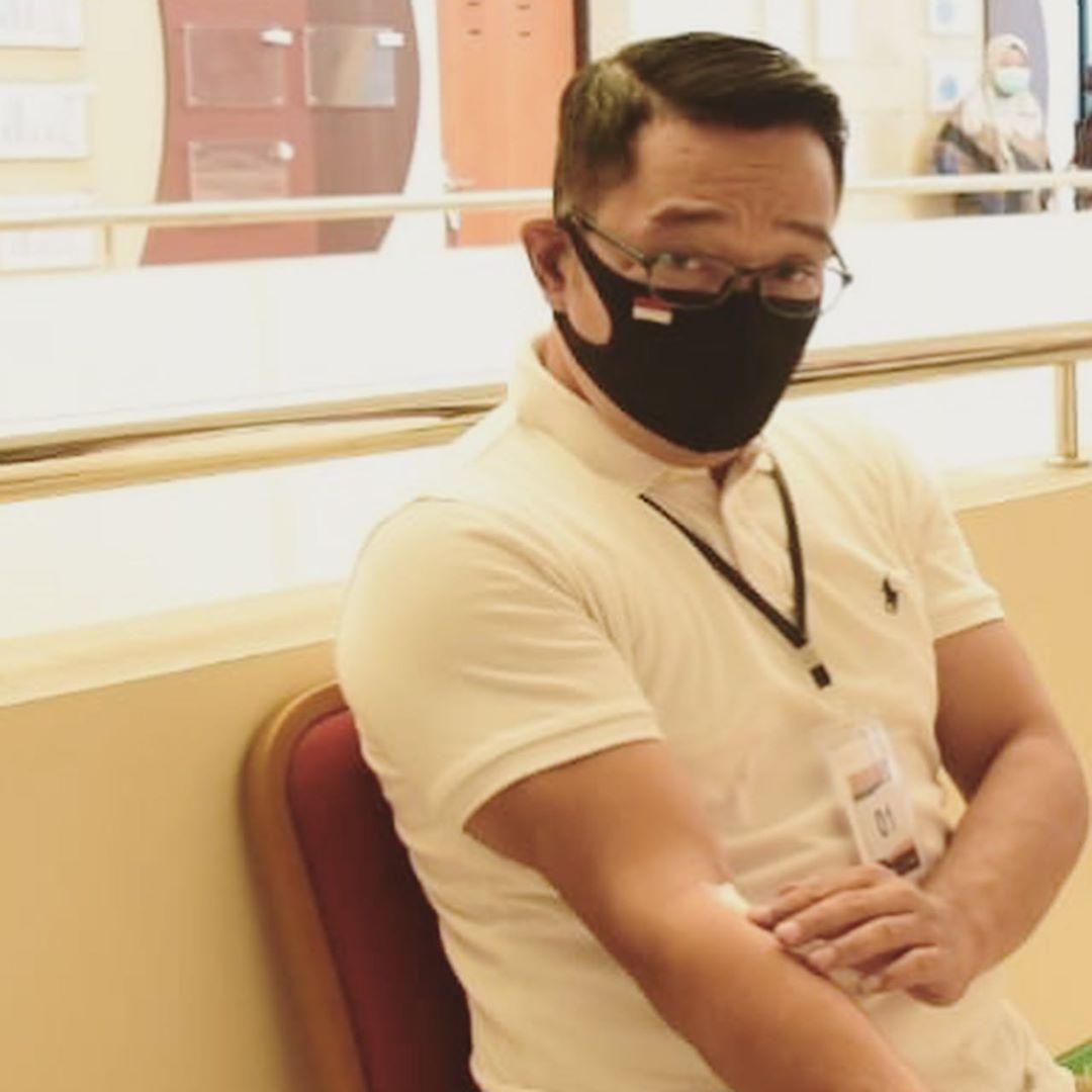 Ridwan Kamil relawan vaksin virus Corona COVID-19