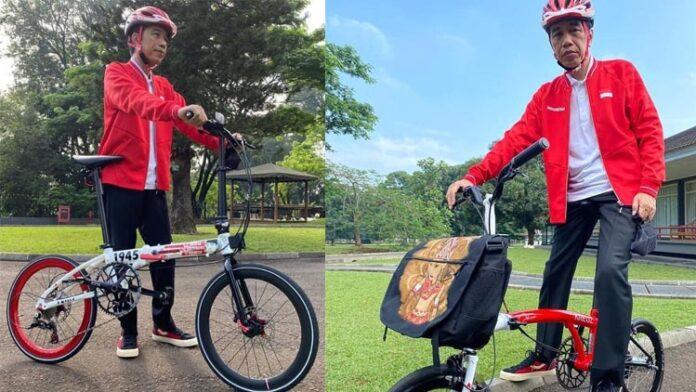 Koleksi Sepeda Lipat Presiden Jokowi
