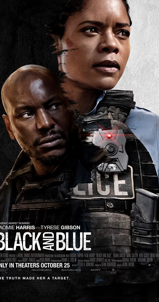 Black and Blue film detektif polisi pembunuhan 2020 kriminal IMDb