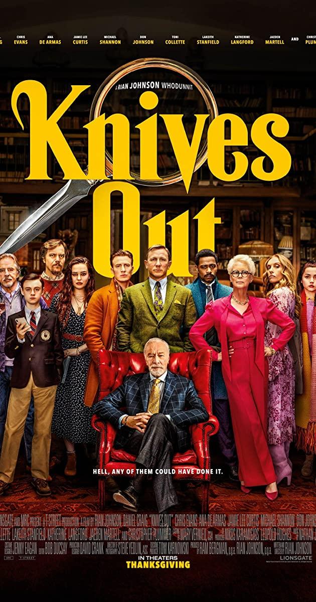 Knives Out film detektif terbaik pembunuhan kriminal 2020 IMDb