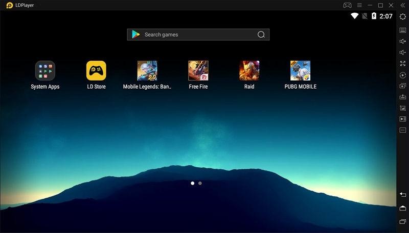 LDPlayer emulator android untuk pc laptop mac