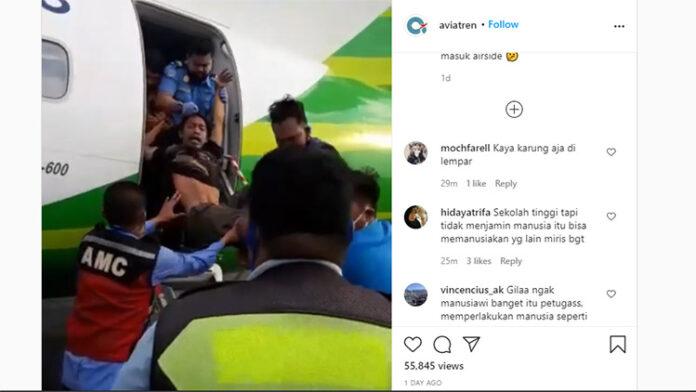 Petugas Keamanan Bandara Lempar Penumpang Gelap Citilink