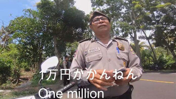 Polisi Peras Wisatawan Jepang di Bali