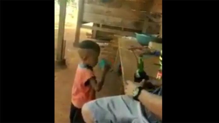 Viral Anak Kecil Dberi Minuman Keras Hingga Mabuk di Luwu Timur