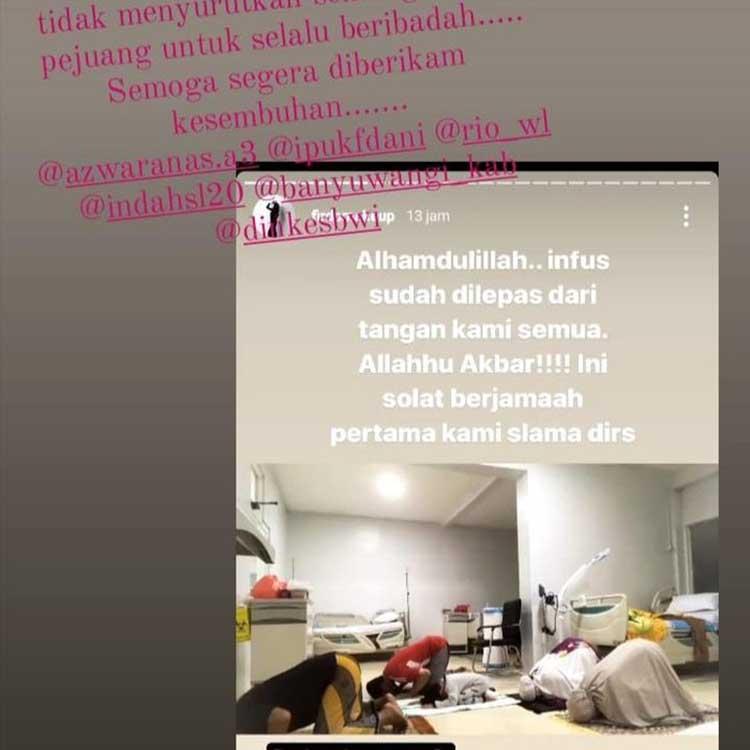 Viral Pasien Covid Salat Berjamaah di RSUD Blambangan Banyuwangi