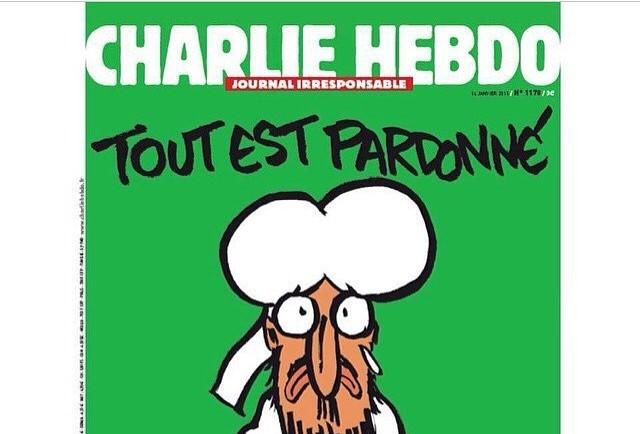 Charlie Hebdo buat kartun nabi Muhammad