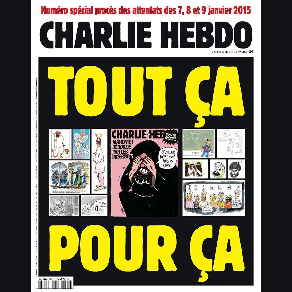 Charlie Hebdo majalah satire kartun nabi muhammad