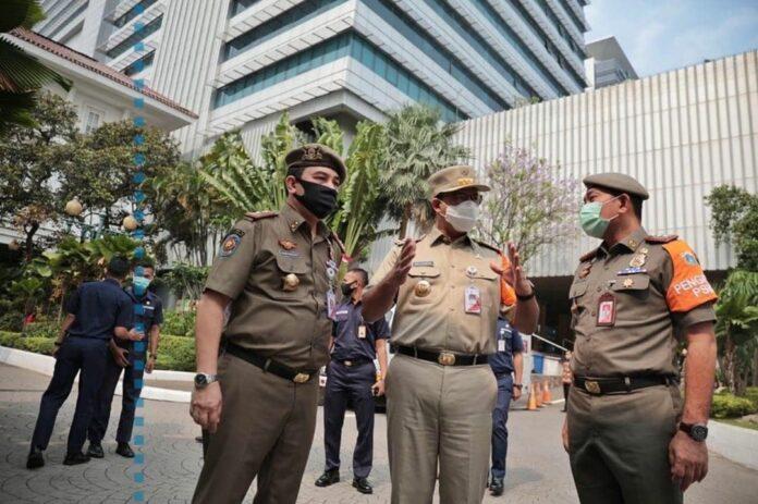 Anies Baswenda Gubernur DKI Jakarta bansos pemprov