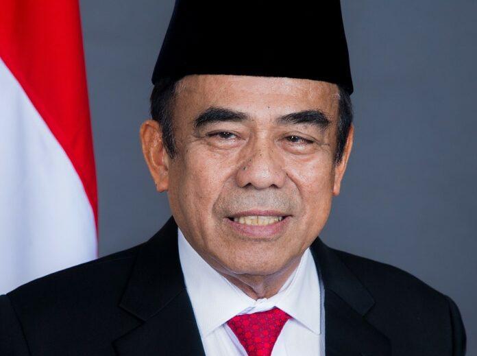 Fachrul Razi Menteri Agama positif COVID-19 Corona