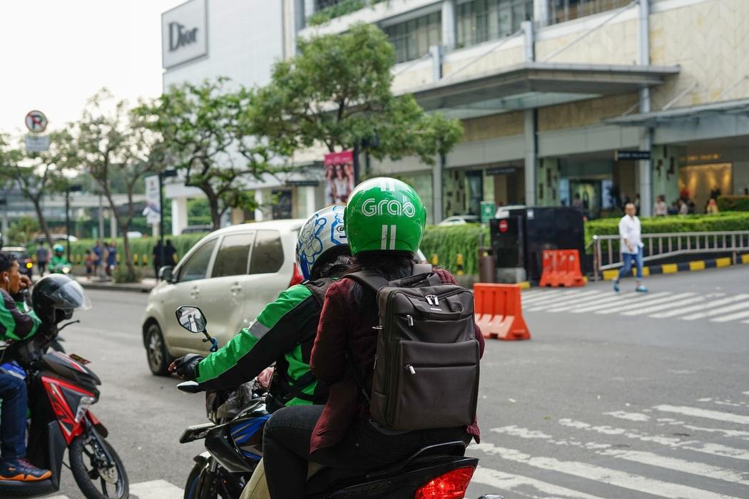 Ojek Online Ojol Angkut Penumpang jakarta psbb total